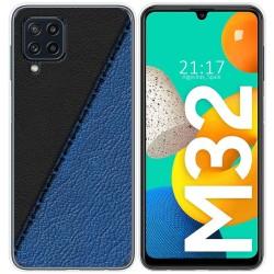 Funda Silicona para Samsung Galaxy M32 diseño Cuero 02 Dibujos