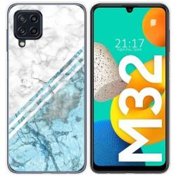 Funda Silicona para Samsung Galaxy M32 diseño Mármol 02 Dibujos
