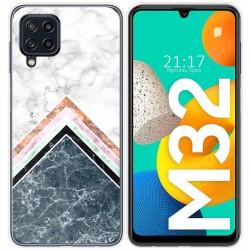 Funda Silicona para Samsung Galaxy M32 diseño Mármol 05 Dibujos