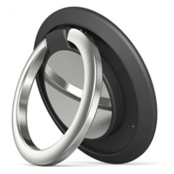Anillo Ring Soporte con Adhesivo para Móvil color Negro