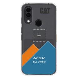 Personaliza tu Funda Silicona Gel Tpu Transparente con tu Fotografia para CAT S62 Pro Dibujo Personalizada