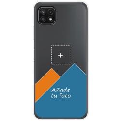 Personaliza tu Funda Doble Pc + Tpu 360 con tu Fotografia para Samsung Galaxy A22 5G Dibujo Personalizada