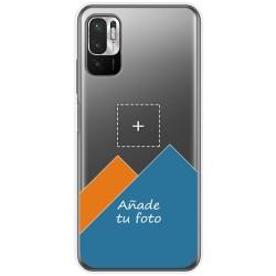 Personaliza tu Funda Doble Pc + Tpu 360 con tu Fotografia para Xiaomi Redmi Note 10 5G / POCO M3 PRO 5G Dibujo Personalizada