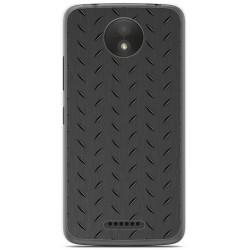 Funda Gel Tpu para Motorola Moto C Plus Diseño Metal Dibujos