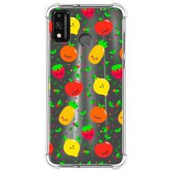 Funda Silicona Antigolpes para Huawei Honor 9X Lite diseño Frutas 01 Dibujos