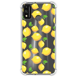 Funda Silicona Antigolpes para Huawei Honor 9X Lite diseño Limones Dibujos