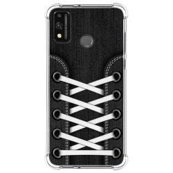 Funda Silicona Antigolpes para Huawei Honor 9X Lite diseño Zapatillas 02 Dibujos
