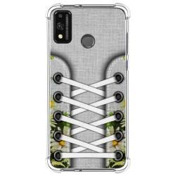 Funda Silicona Antigolpes para Huawei Honor 9X Lite diseño Zapatillas 08 Dibujos
