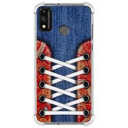 Funda Silicona Antigolpes para Huawei Honor 9X Lite diseño Zapatillas 11 Dibujos