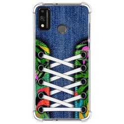 Funda Silicona Antigolpes para Huawei Honor 9X Lite diseño Zapatillas 13 Dibujos