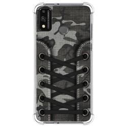 Funda Silicona Antigolpes para Huawei Honor 9X Lite diseño Zapatillas 15 Dibujos