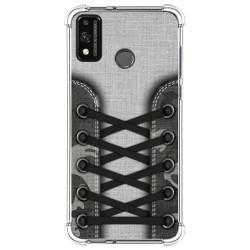 Funda Silicona Antigolpes para Huawei Honor 9X Lite diseño Zapatillas 16 Dibujos