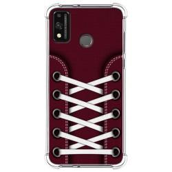 Funda Silicona Antigolpes para Huawei Honor 9X Lite diseño Zapatillas 17 Dibujos