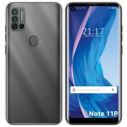 Funda Silicona Gel TPU Transparente para Ulefone Note 11P