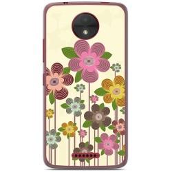 Funda Gel Tpu para Motorola Moto C Diseño Primavera En Flor  Dibujos
