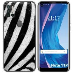 Funda Silicona para Ulefone Note 11P diseño Animal 02 Dibujos