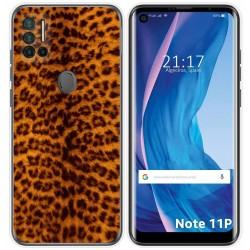 Funda Silicona para Ulefone Note 11P diseño Animal 03 Dibujos