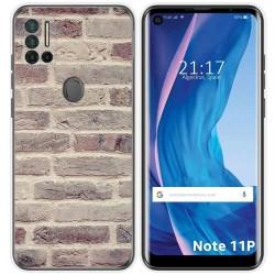 Funda Silicona para Ulefone Note 11P diseño Ladrillo 01 Dibujos