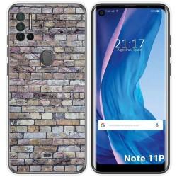 Funda Silicona para Ulefone Note 11P diseño Ladrillo 02 Dibujos