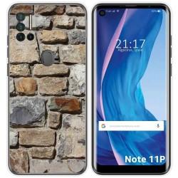 Funda Silicona para Ulefone Note 11P diseño Ladrillo 03 Dibujos