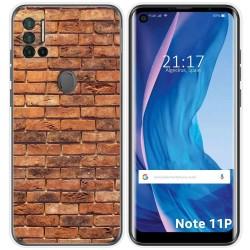 Funda Silicona para Ulefone Note 11P diseño Ladrillo 04 Dibujos