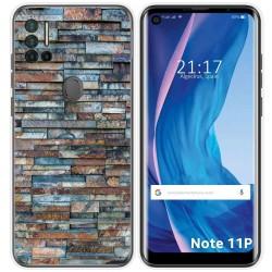 Funda Silicona para Ulefone Note 11P diseño Ladrillo 05 Dibujos