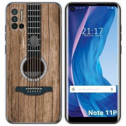 Funda Silicona para Ulefone Note 11P diseño Madera 11 Dibujos