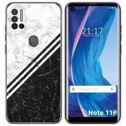Funda Silicona para Ulefone Note 11P diseño Mármol 01 Dibujos