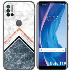 Funda Silicona para Ulefone Note 11P diseño Mármol 05 Dibujos