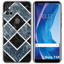 Funda Silicona para Ulefone Note 11P diseño Mármol 06 Dibujos