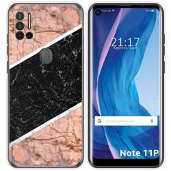 Funda Silicona para Ulefone Note 11P diseño Mármol 07 Dibujos