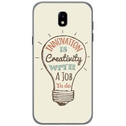 Funda Gel Tpu para Samsung Galaxy J5 (2017) Diseño Creativity Dibujos