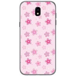 Funda Gel Tpu para Samsung Galaxy J5 (2017) Diseño Flores Dibujos