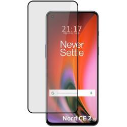Protector Cristal Templado Completo 5D Full Glue Negro para OnePlus Nord 2 5G Vidrio