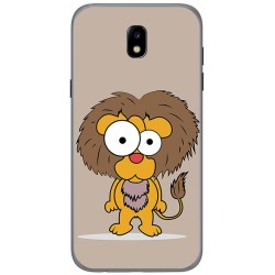 Funda Gel Tpu para Samsung Galaxy J5 (2017) Diseño Leon Dibujos