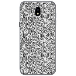 Funda Gel Tpu para Samsung Galaxy J5 (2017) Diseño Letras Dibujos