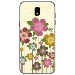 Funda Gel Tpu para Samsung Galaxy J5 (2017) Diseño Primavera En Flor  Dibujos