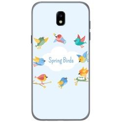 Funda Gel Tpu para Samsung Galaxy J5 (2017) Diseño Spring Birds Dibujos