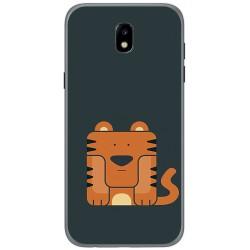 Funda Gel Tpu para Samsung Galaxy J5 (2017) Diseño Tigre Dibujos