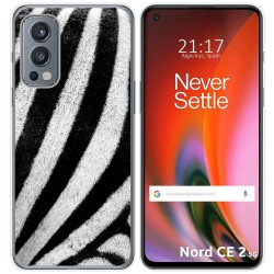 Funda Silicona para OnePlus Nord 2 5G diseño Animal 02 Dibujos