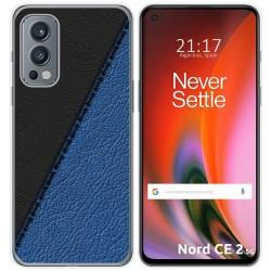 Funda Silicona para OnePlus Nord 2 5G diseño Cuero 02 Dibujos
