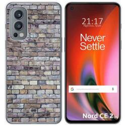 Funda Silicona para OnePlus Nord 2 5G diseño Ladrillo 02 Dibujos