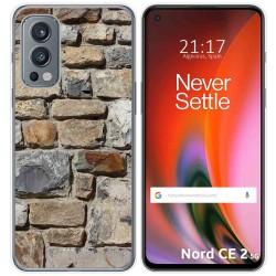 Funda Silicona para OnePlus Nord 2 5G diseño Ladrillo 03 Dibujos