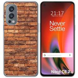 Funda Silicona para OnePlus Nord 2 5G diseño Ladrillo 04 Dibujos