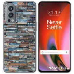 Funda Silicona para OnePlus Nord 2 5G diseño Ladrillo 05 Dibujos