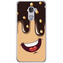 Funda Gel Tpu para Vodafone Smart V8 Diseño Helado Chocolate Dibujos