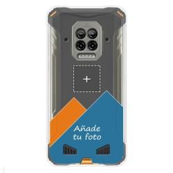 Personaliza tu Funda Silicona Gel Tpu Transparente con tu Fotografia para Doogee S86 / S86 Pro Dibujo Personalizada