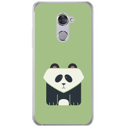 Funda Gel Tpu para Vodafone Smart V8 Diseño Panda Dibujos