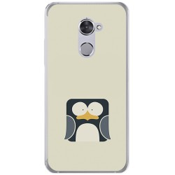 Funda Gel Tpu para Vodafone Smart V8 Diseño Pingüino Dibujos