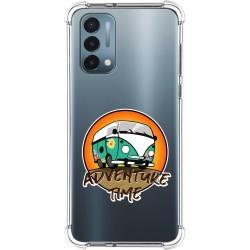 Funda Silicona Antigolpes para OnePlus Nord N200 5G diseño Adventure Time Dibujos